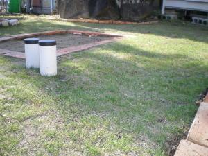 2008年12月12日撮影の我が家の西洋芝全体